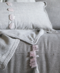 Rose Quartz Lumbar Pillow - Sefte