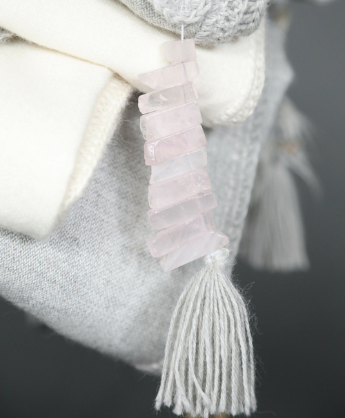 Rose Quartz Alpaca Throw - Sefte