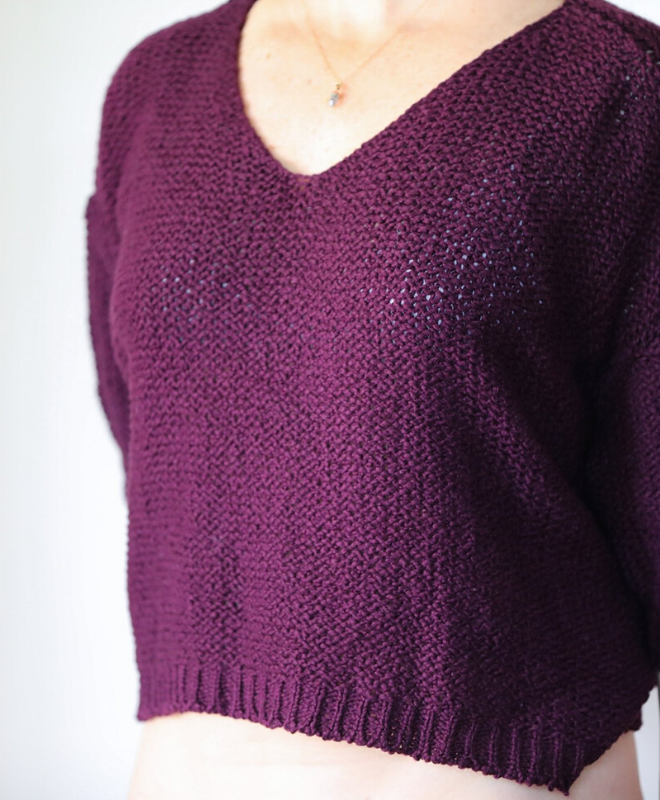 Plum Nuna Sweater