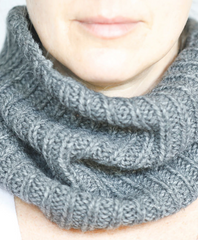 Charcoal Pampa Neck Warmer - Sefte