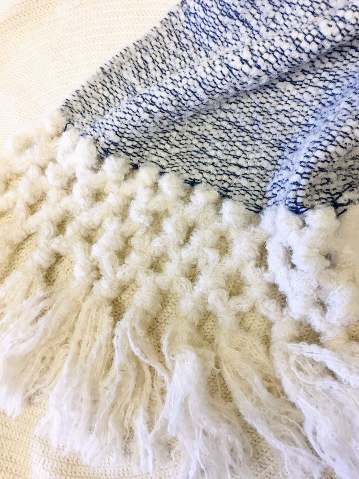 Maya Boucle Throw