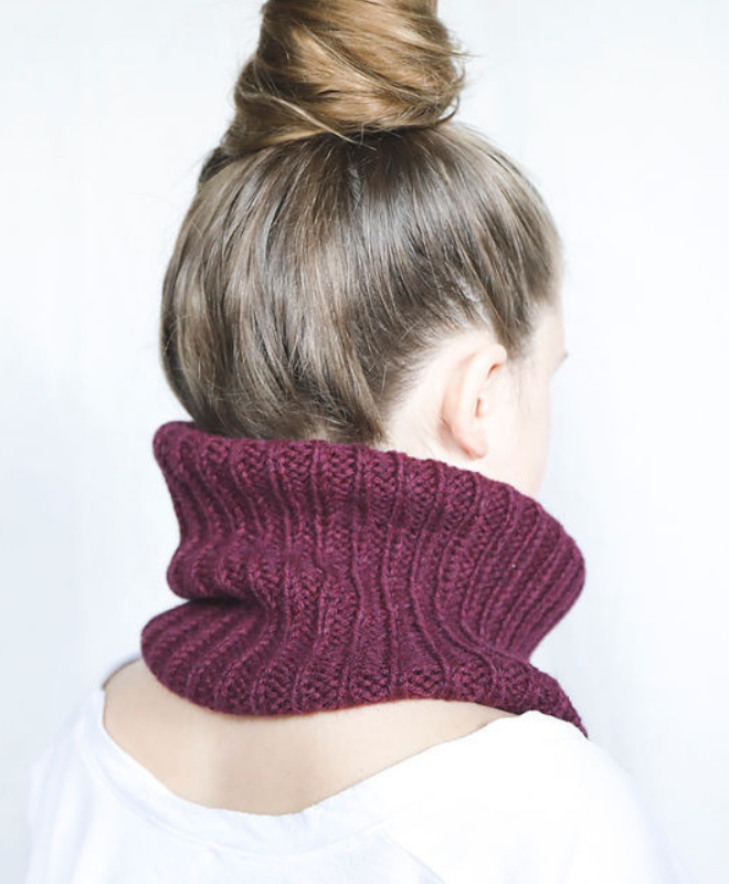 Burgundy Pampa Neck Warmer - Sefte