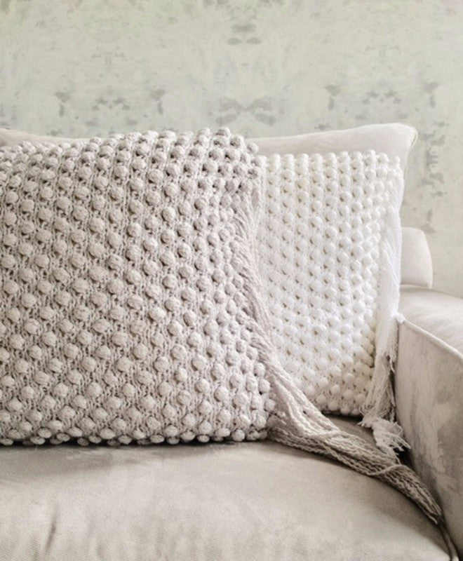 Bulb Woven Cotton Pillow - Sefte