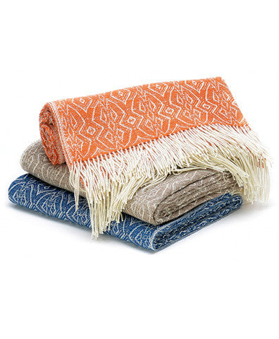 Noe Woven Alpaca Wool Throw
