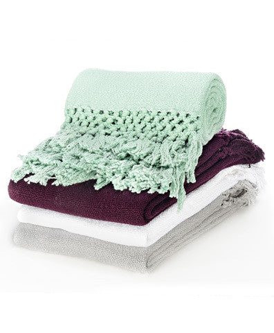 Wasi Woven Alpaca Throw