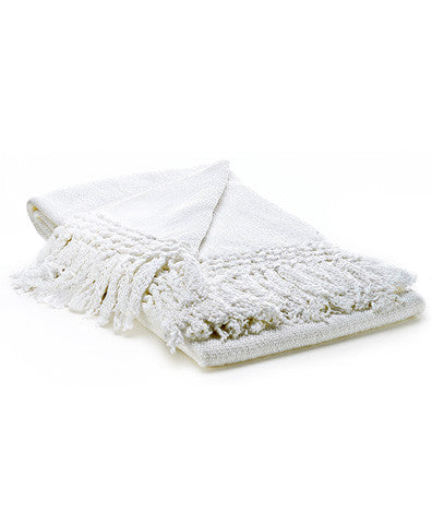 Paya crocheted throw