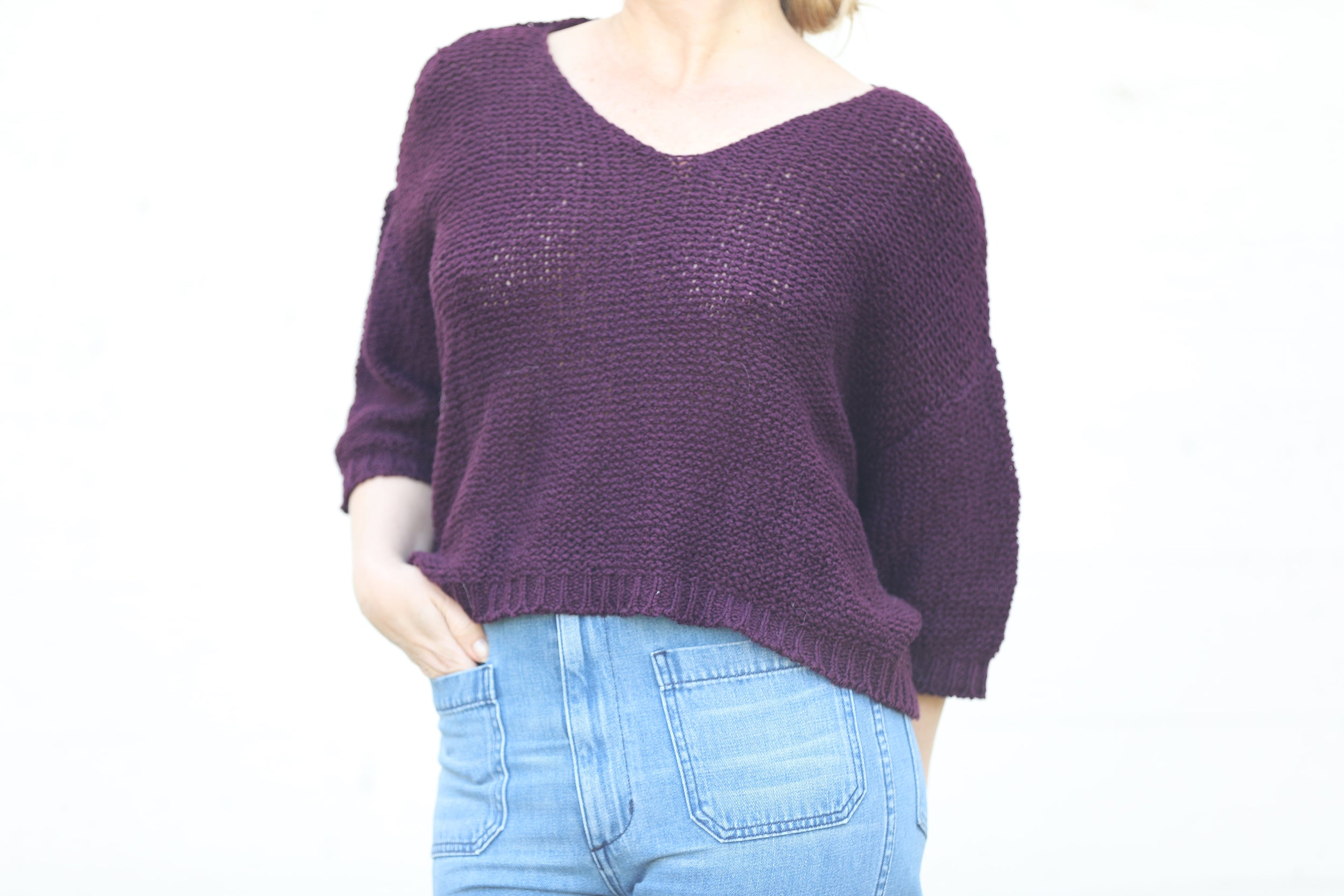 Plum Nuna Sweater - Sefte
