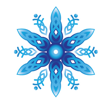 Load image into Gallery viewer, Celtic Snowflake Mask