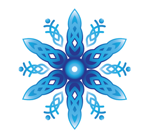 Celtic Snowflake Mask