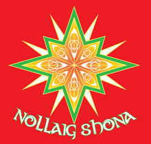 Load image into Gallery viewer, Nollaig Shona Mask