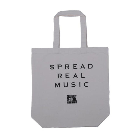SPREAD REAL MUSIC キャンバスバッグ
