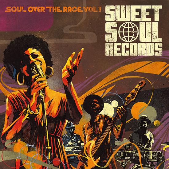 SWEET SOUL SELECT ARTISTS / SOUL OVER THE RACE VOL.1
