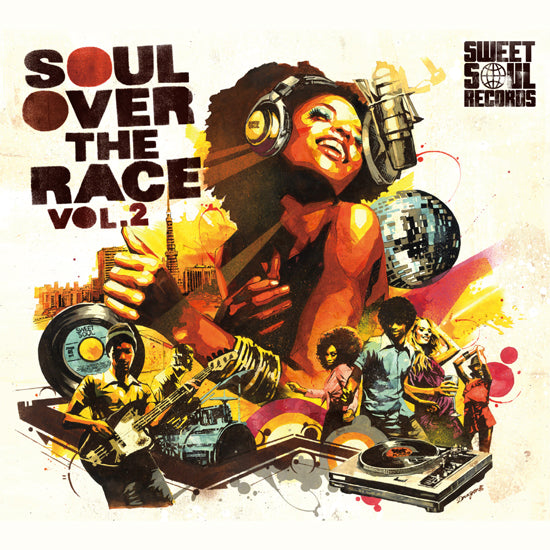 SWEET SOUL SELECT ARTISTS / SOUL OVER THE RACE VOL.2