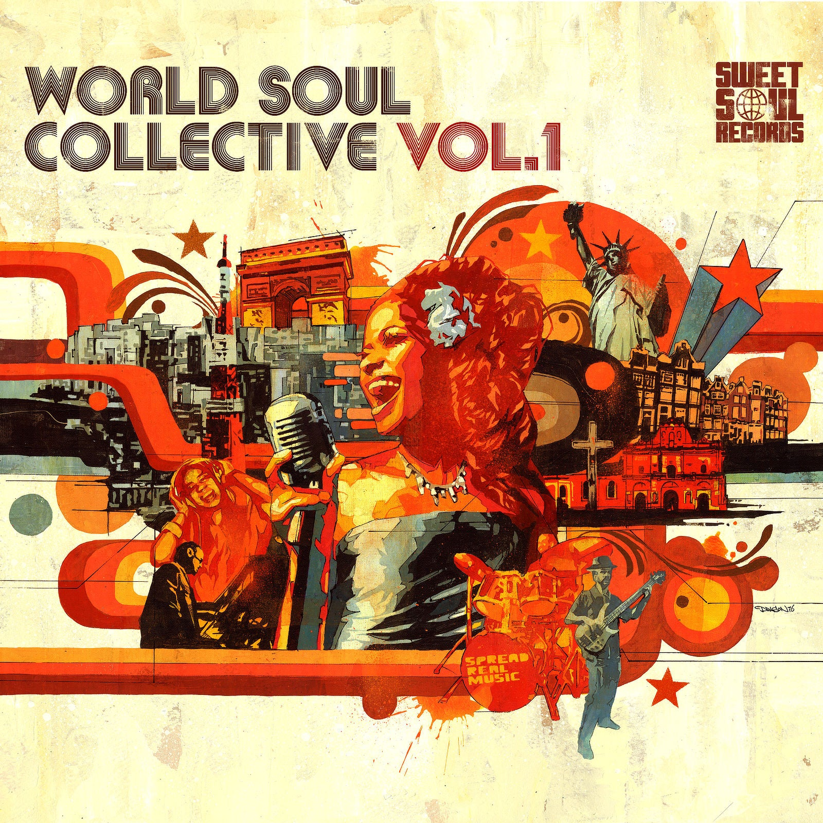 SWEET SOUL SELECT ARTISTS / WORLD SOUL COLLECTIVE VOL.1