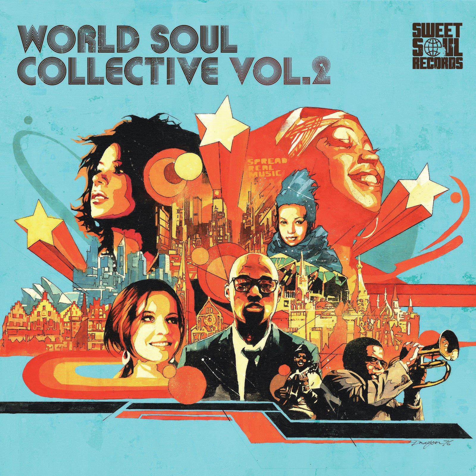 SWEET SOUL SELECT ARTISTS / WORLD SOUL COLLECTIVE VOL.2