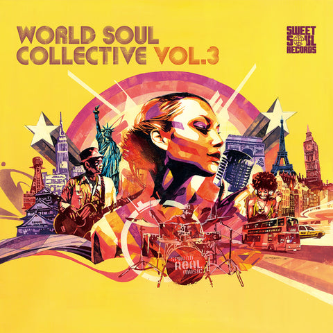 SWEET SOUL SELECT ARTISTS / WORLD SOUL COLLECTIVE VOL.3