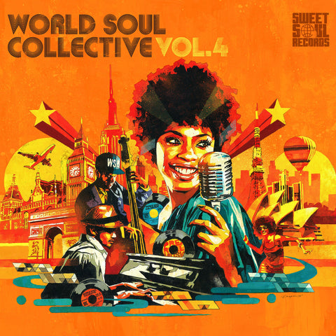 SWEET SOUL SELECT ARTISTS / WORLD SOUL COLLECTIVE VOL.4