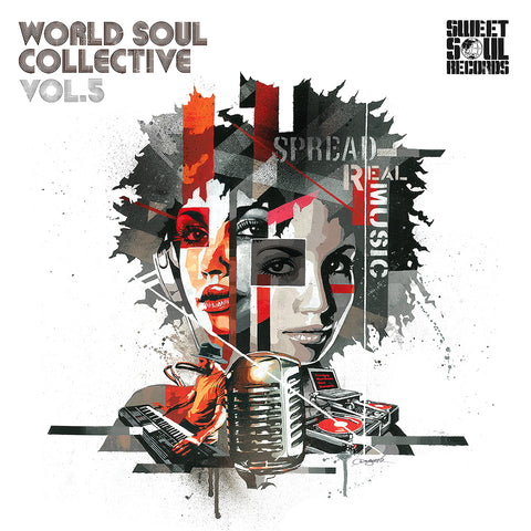 SWEET SOUL SELECT ARTISTS / WORLD SOUL COLLECTIVE VOL.5