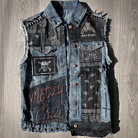 Ladies Glam Blue Denim Jacket