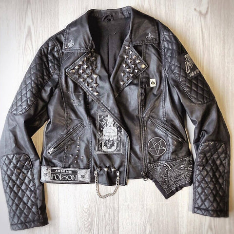 Ladies Occult Leather Jacket