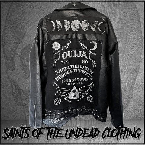 Ouija Leather Jacket