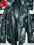 Men's Leather Zombie Nightmare