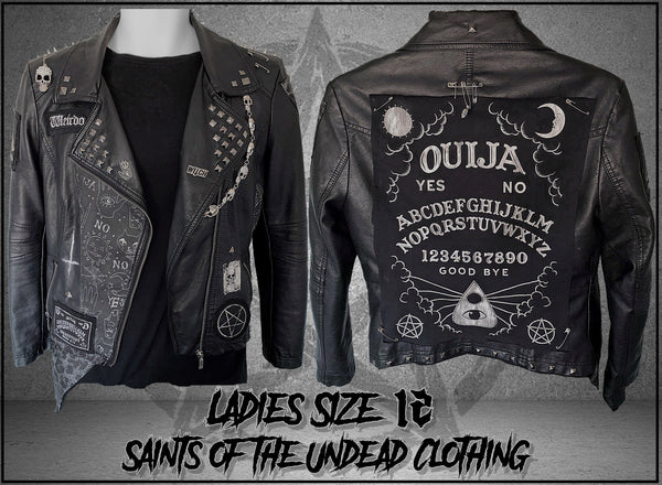 Ladies Ouija Leather Jacket