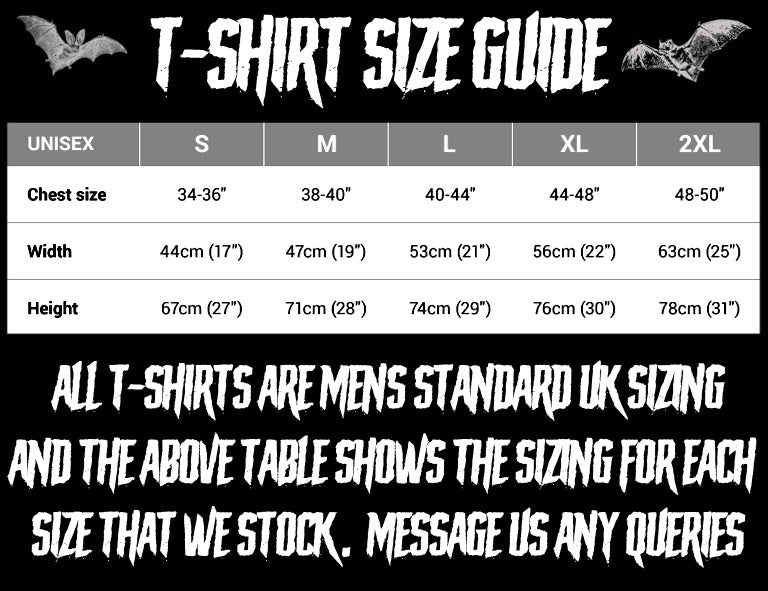 SIZES & SIZE GUIDE