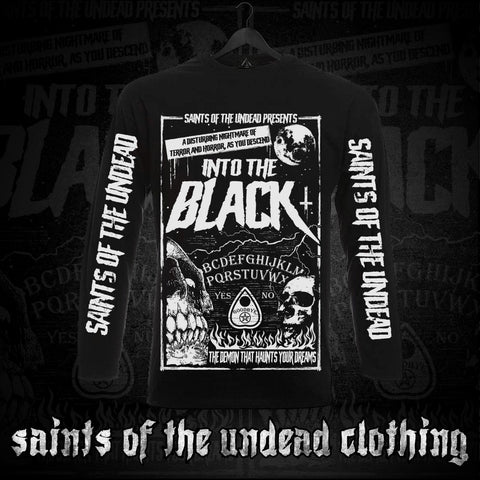 Into the Black Long Sleeve T-Shirt