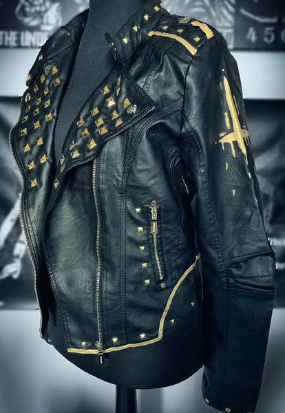 Ladies Hellfire Leather Jacket