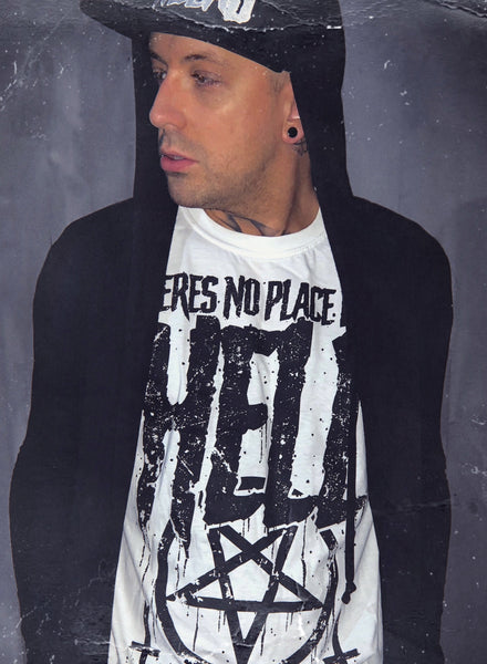 No Place Like Hell White T-Shirt
