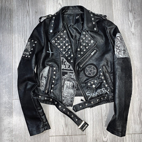 Ladies Sinner Leather Jacket