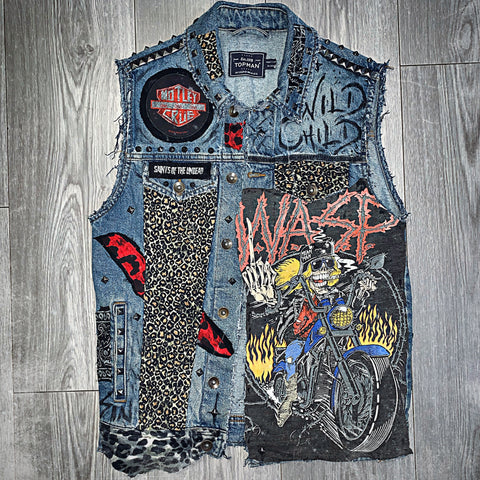Unisex Wild Child Denim Jacket