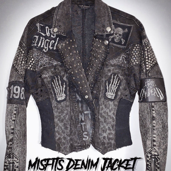 Ladies Misfits Denim Jacket