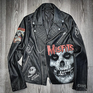 Monster Misfit Leather Jacket