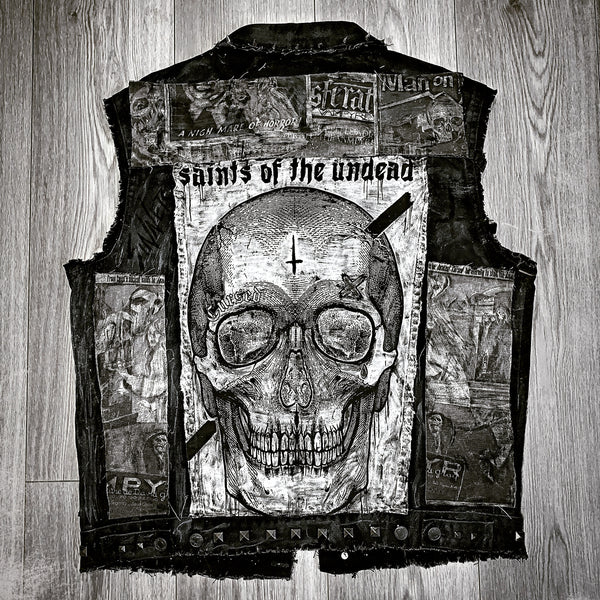 Men's Horror Denim Cut-Off
