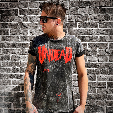 Undead Acid Wash T-Shirt