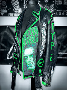 Ladies Type O Negative Leather Jacket
