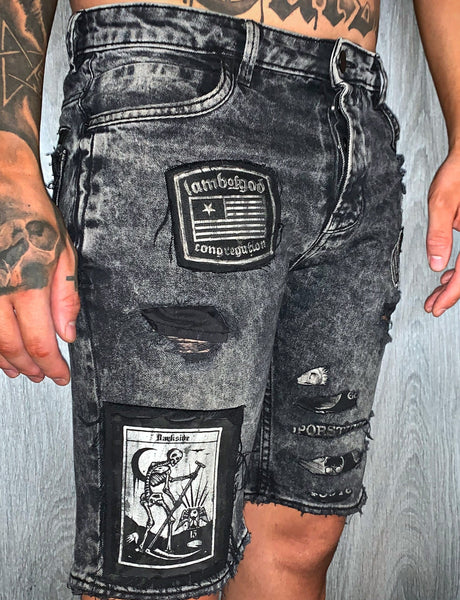 Men's Custom Denim Shorts