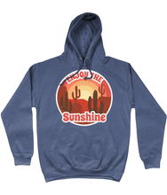 Load image into Gallery viewer, Retro Enjoy the Sunshine Hoodie