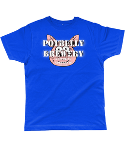 Potbelly Brewery Retro Logo T-Shirt Distressed