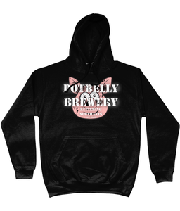 Potbelly Brewery Retro Distressed Logo Hoodie