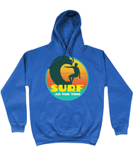 Load image into Gallery viewer, Retro Surf All the Time Hoodie