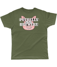 Load image into Gallery viewer, Potbelly Brewery Retro Logo T-Shirt