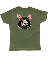 "Load image into Gallery viewer, Potbelly Brewery ""And Now for something Piggin' Different"" Pump Clip Classic Cut Men's T-Shirt"