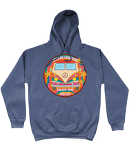Load image into Gallery viewer, Retro Life's an adventure Hoodie