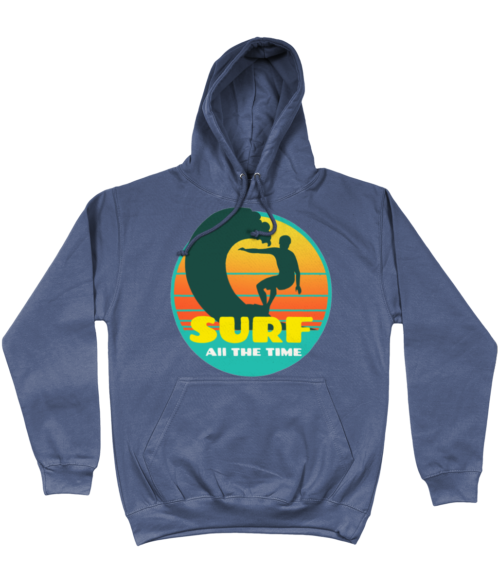 Retro Surf All the Time Hoodie