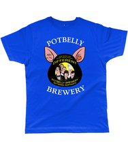 Load image into Gallery viewer, Potbelly Brewery And Now For Something Piggin Different Pump Clip with Wording Classic Cut Men's T-Shirt