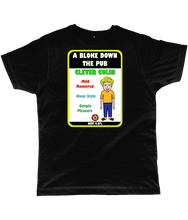 Load image into Gallery viewer, A Bloke Down the Pub Clever Colin Pump Clip Classic Cut Men's T-Shirt