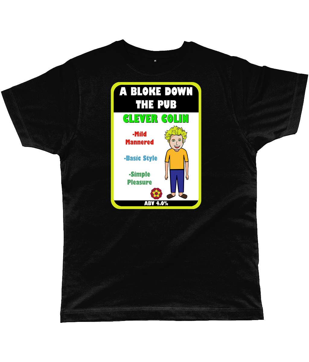 A Bloke Down the Pub Clever Colin Pump Clip Classic Cut Men's T-Shirt